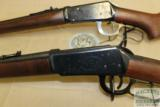 Winchester NRA Centennial Musket and 1894 LAR 30-30 set with boxes and papers - 14 of 16
