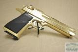 "Magnum Research Desert Eagle 44 mag, 6"", 24k Gold!"