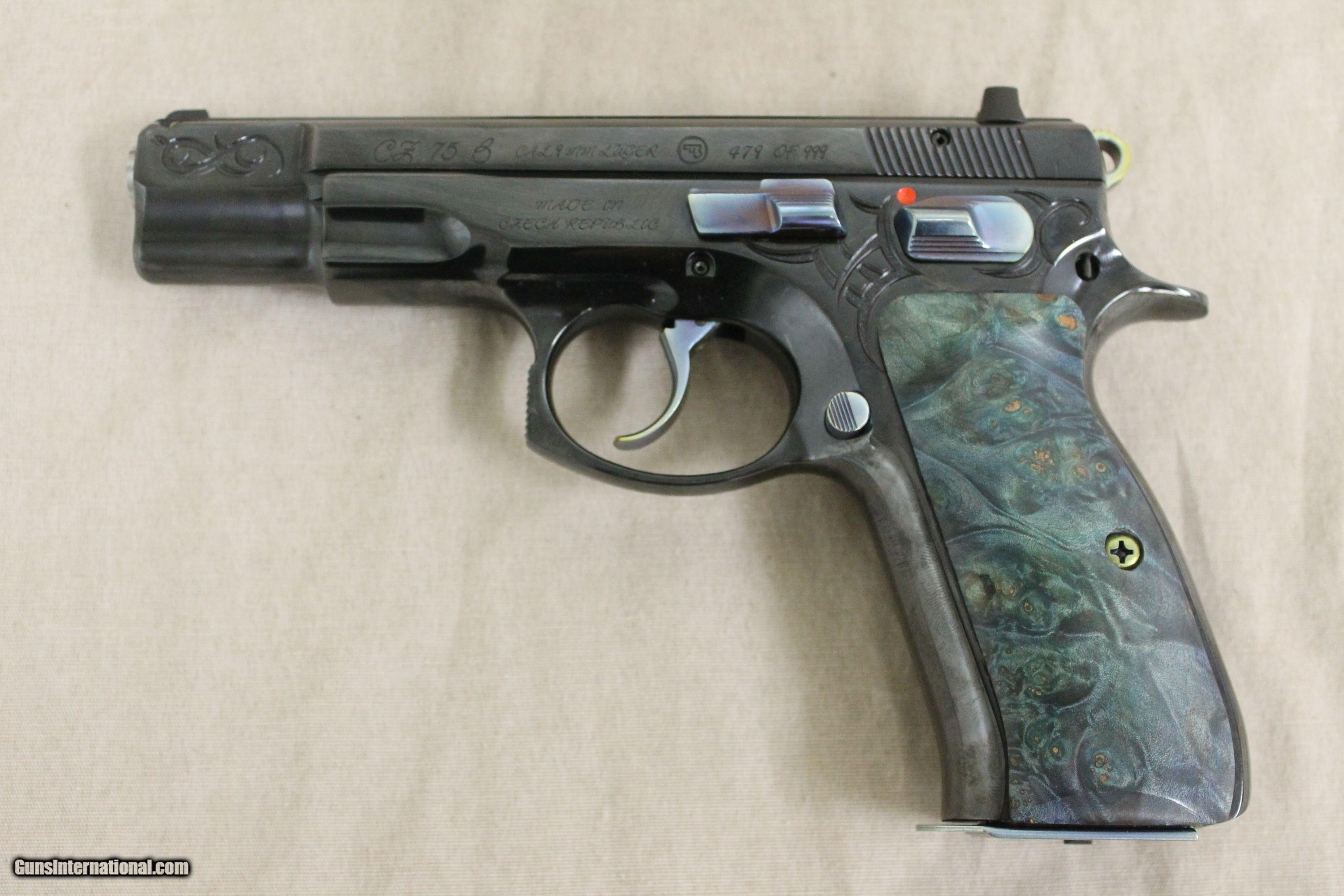 CZ 75 B 40th Anniversary Limited Edition for sale