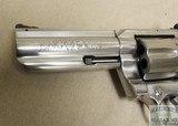 """Colt King Cobra 357 magnum, 4"""" barrel, stainless - 6 of 7"""
