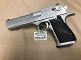 "Magnum ResearchDesert Eagle,50 AEMatte Chrome 6"""