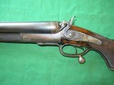 10 Bore Double Rifle. W&C Scott & Son. 1892.