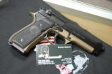 X-Werks Beretta M9 Burnt Bronze 9mm M 9 No CC Fee - 1 of 8