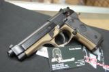 X-Werks Beretta M9 Burnt Bronze 9mm M 9 No CC Fee - 2 of 8