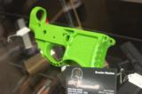 X-Werks Seekins Billet AR-15 Lower Zombie Green - 3 of 5