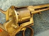Lefaucheaux Type ENGLISH PIN-FIRE DBL, ACTION REVOLVER 9mm