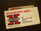 WINCHESTER SUPER X .303 SAVAGE 190 GR. (2) BOXES SILVER TIP - 4 of 7