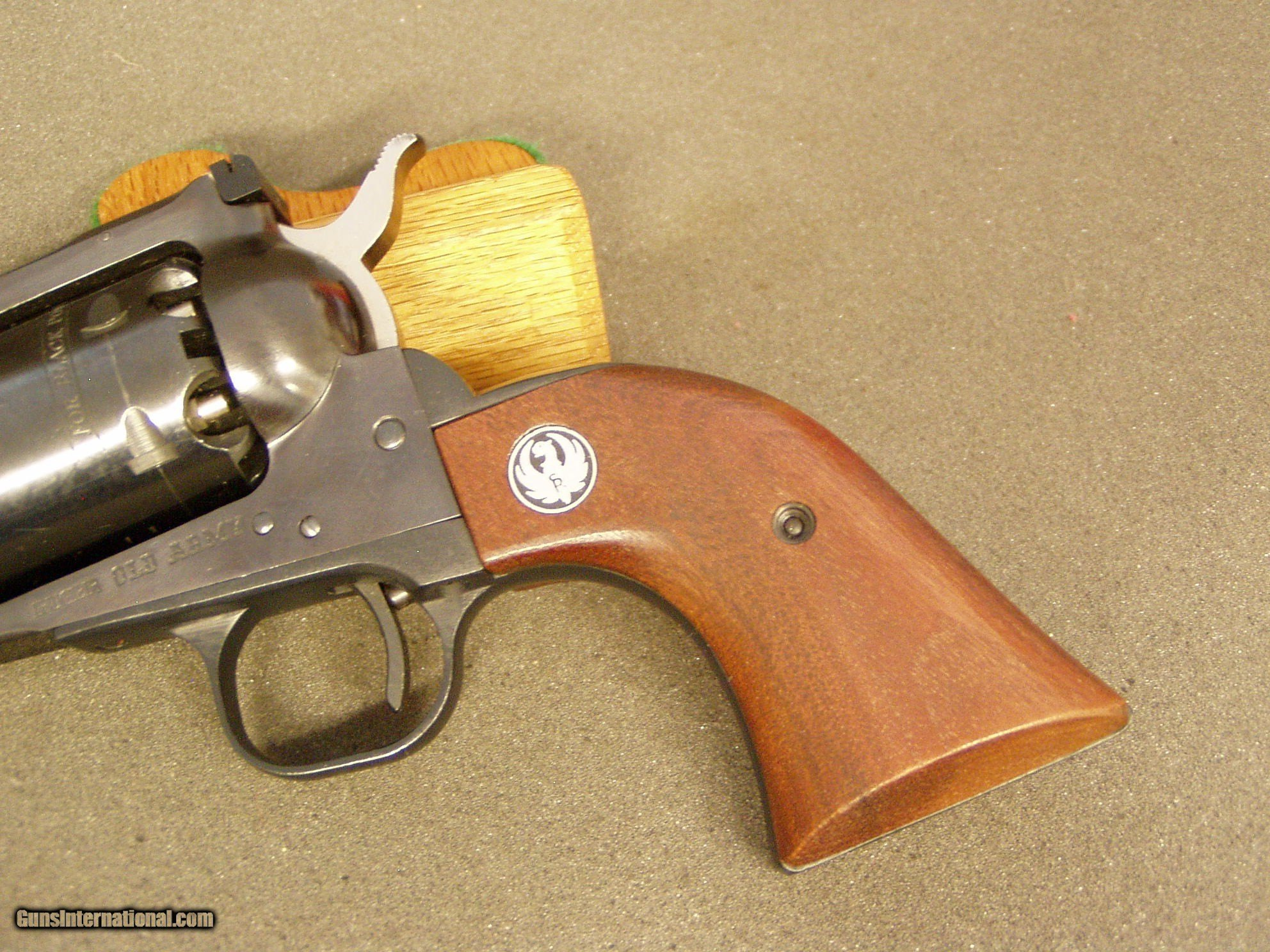RUGER OLD ARMY BLACK POWDER CAP & BALL REVOLVER-  45 CAL  1972 for sale