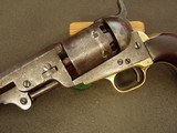 COLT MODEL 1851- NAVY/ARMY- U.S. REVOLVER- - NEW YORK ADDRESS!