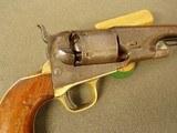 COLT MODEL 1861 NAVY MANF. IN 1865- -.36 CALIBER - 9 of 20