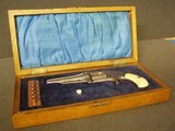 ENGRAVED & CASED SMITH & WESSON No. 1-1/2 2nd ISSUE.32RF