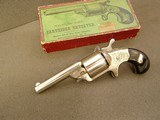 M00RE'S NEW MODEL ENGRAVED REVOLVER WITH PICTURE BOX- -.32 TEAT-FIRE