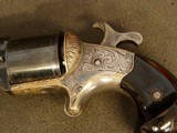 NATIONAL ARMS CO. FRONT LOADING- ENGRAVED- TEAT-FIRE- -REVOLVER - 20 of 20