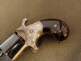 NATIONAL ARMS CO. FRONT LOADING- ENGRAVED- TEAT-FIRE- -REVOLVER - 4 of 20
