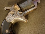 NATIONAL ARMS CO. FRONT LOADING- ENGRAVED- TEAT-FIRE- -REVOLVER - 11 of 20
