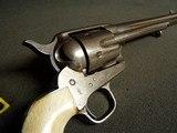 """COLT CAVALRY MODEL 1873 U.S. REVOLVER """"RARE CASEY INSP."""" W/LTR & HISTORICAL INFO - 4 of 20"""