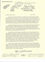"COLT ARTILLERY MODEL US CAVALRY REVOLVER W/KOPEC LTR,W/ ""AINSWORTH""COMPONENTS - 18 of 20"
