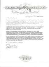 SMITH & WESSONMODELNo. 2 OLD MODEL ARMY- CIVIL WAR- WITH ARCHIVE LETTER! - 20 of 20