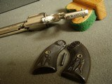 """COLT """"NEW POLICE""""""""COP & THUG"""" RARE 6"""" BBL. """"ETCHED PANEL"""" REVOLVER - WITH LETTER - 18 of 20"""