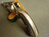 """COLT """"NEW POLICE""""""""COP & THUG"""" RARE 6"""" BBL. """"ETCHED PANEL"""" REVOLVER - WITH LETTER - 12 of 20"""