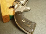 """COLT """"NEW POLICE""""""""COP & THUG"""" RARE 6"""" BBL. """"ETCHED PANEL"""" REVOLVER - WITH LETTER - 13 of 20"""