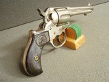 """COLT MODEL 1877 """"THUNDRER"""" .41 COLTRARE 5"""" BARREL""""HIGH CONDITION"""" NICKEL PLATED"""