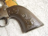 COLT CIVILIANMODEL 1873 REVOLVERWITH ARCHIVELETTER& EAGLE GRIPS - 7 of 20