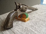 COLT CIVILIANMODEL 1873 REVOLVERWITH ARCHIVELETTER& EAGLE GRIPS - 1 of 20