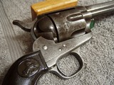 COLT CIVILIANMODEL 1873 REVOLVERWITH ARCHIVELETTER& EAGLE GRIPS - 4 of 20