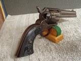 "colt saa .45 caliber revolver4 3/4"" barrel with archive letter""eagle grips"""