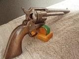 colt cavalry model 1873 u.s. cavalry revolver w/archive letterr.a.c. inspected