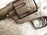 COLT CAVALRY MODEL 1873 U.S. CAVALRY REVOLVER W/KOPEC LETTER - 7 of 19