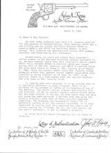 COLT CAVALRY MODEL 1873 U.S. CAVALRY REVOLVER W/KOPEC LETTER - 19 of 19