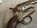 COLT CAVALRY MODEL 1873 U.S. ARTILLERY REVOLVER W/ARCHIVE LETTER- D.F.C. INSPECTED - 15 of 20