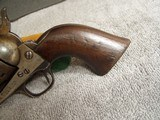 COLT CAVALRY MODEL 1873 U.S. ARTILLERY REVOLVER W/ARCHIVE LETTER- D.F.C. INSPECTED - 3 of 20