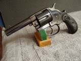 """COLTMODEL 1878 """"SHERIFF'S"""" or """"STORKEEPERS""""MODEL .45 CAL. DA REVOLVER - 3 of 19"""