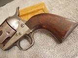 COLT CAVALRY MODEL 1873 U.S. CAVALRY REVOLVER W/KOPEC& ARCHIVE LETTERS - 3 of 20