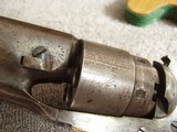 """U.S. COLT MODEL 1860 ARMY REVOLVER """"CIVIL WAR""""WITH (2)""""CARTOUCHES"""" - 5 of 20"""