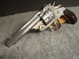 SMITH & WESSON No.3 DOUBLE ACTION- - .44 RUSSIAN CALIBER -ANTIQUE - 2 of 19