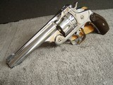 SMITH & WESSON No.3 DOUBLE ACTION- - .44 RUSSIAN CALIBER -ANTIQUE