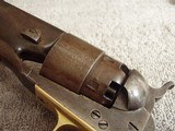 """U.S. COLT MODEL 1860 ARMY REVOLVER """"CIVIL WAR""""WITH (2)""""CARTOUCHES"""" MANF.1863 - 5 of 20"""