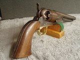 """U.S. COLT MODEL 1860 ARMY REVOLVER """"CIVIL WAR""""WITH (2)""""CARTOUCHES"""" MANF.1863 - 1 of 20"""