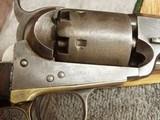 COLT MODEL 1851 NAVY REVOLVER .36 CALIBER-PERCUSSION - 10 of 19