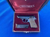 Walther PPK .380 1968 in Factory Presentation Case