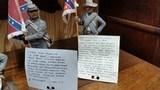 A unique set of Confederate Civil War Soldiers. - 2 of 2