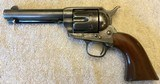 "Nice Colt Single Action Army 45 x 4-3/4"" Walnut stocks in Very nice condition!"