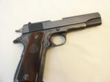 Colt Post War .38 Super Fat Barrel mfg. 1950- Beautiful Condition with Rare Red Grips - 1 of 9
