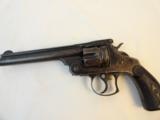 Antique Smith & Wesson #3 44 Double Action Revolver in rare Blue Finish - 2 of 8