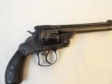 Antique Smith & Wesson #3 44 Double Action Revolver in rare Blue Finish - 1 of 8