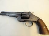 Beautifully Restored Smith Wesson 1st Model Schofield Wells Fargo Revolver - 6 of 11